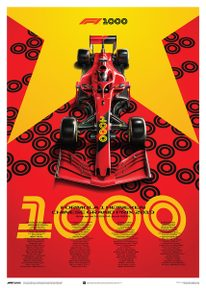 FORMULA 1 HEINEKEN CHINESE GRAND PRIX 2019 - POSTER - F1 POSTERS