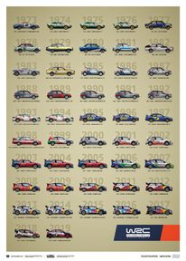 WRC CONSTRUCTORS' CHAMPIONS 1973-2019 - 47TH ANNIVERSARY | LIMITED EDITION - LIMITED EDITION