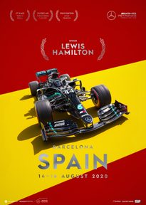 MERCEDES-AMG PETRONAS F1 TEAM - SPAIN 2020 - LEWIS HAMILTON | COLLECTOR'S EDITION - F1 POSTERS