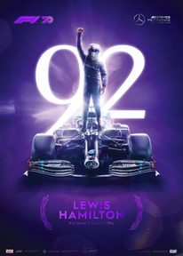 MERCEDES-AMG PETRONAS F1 TEAM - LEWIS HAMILTON 92ND RECORD-BREAKING WIN - FORMULA 1 | PURPLE COLLECTOR'S EDITION - COLLECTOR'S EDITION