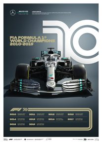 FORMULA 1® DECADES - 2010S MERCEDES-AMG PETRONAS F1 TEAM | LIMITED EDITION - LIMITED EDITION