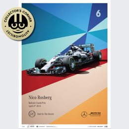 MERCEDES-AMG PETRONAS F1 TEAM - 2014 - NICO ROSBERG  | LIMITED EDITION | UNIQUE #S - UNIQUE #S