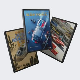 PORSCHE - THE PAST COLLECTION | 3 POSTERS | COLLECTOR'S EDITION - COLLECTOR'S EDITION