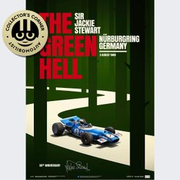 MATRA MS80 - SIR  JACKIE STEWART - THE GREEN HELL - NÜRBURGRING GP - 1969 | COLLECTOR'S EDITION POSTER | SIGNED - SIGNED
