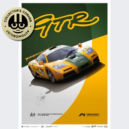 MCLAREN F1 GTR - MACH ONE RACING - 1995 | LIMITED EDITION | SIGNED - SIGNED