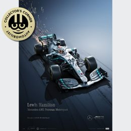 MERCEDES-AMG PETRONAS MOTORSPORT - 2019 - LEWIS HAMILTON | COLLECTOR'S EDITION | UNIQUE #S - UNIQUE #S