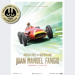 MASERATI 250F - JUAN MANUEL FANGIO - 1957 | COLLECTOR'S EDITION | UNIQUE #S - UNIQUE #S