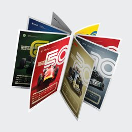 FORMULA 1® DECADES - 8 POSTERS, ONE GLORIOUS HISTORY | LIMITED EDITION - F1 POSTERS