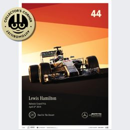MERCEDES-AMG PETRONAS F1 TEAM - 2014 - LEWIS HAMILTON | LIMITED EDITION | UNIQUE #S - UNIQUE #S