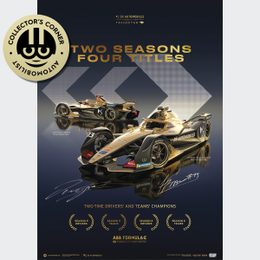 DS TECHEETAH - FORMULA E TEAM - 2 SEASONS, 4 TITLES | COLLECTOR'S EDITION | SIGNED - SIGNED