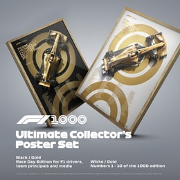 FORMULA 1® - 1000TH GRAND PRIX™ - ULTIMATE COLLECTOR'S POSTER SET - POSTERS