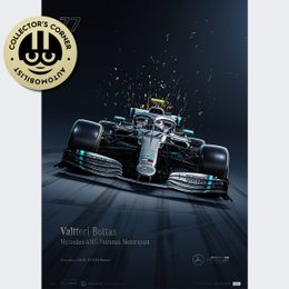 MERCEDES-AMG PETRONAS MOTORSPORT - 2019 - VALTTERI BOTTAS | COLLECTOR'S EDITION | UNIQUE #S - UNIQUE #S