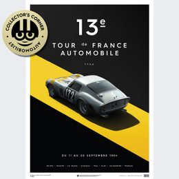 FERRARI 250 GTO - SILVER - TOUR DE FRANCE - 1964 | UNIQUE #S - UNIQUE #S