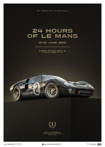 Ford GT40 - Black - 24h Le Mans - 1966 | Collector's Edition