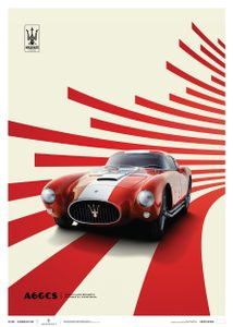 Maserati A6GCS Berlinetta 1954 - Red