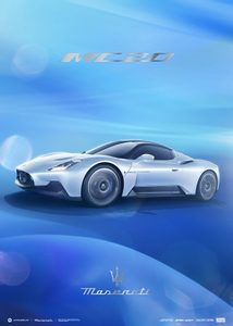 Maserati Corse 2020 | MC20 Side | Collector's Edition