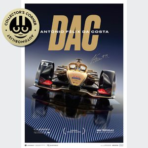 DS TECHEETAH - Formula E Team - António Félix Da Costa | Limited Edition | Signed