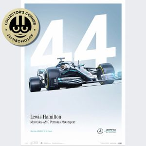 Mercedes-AMG Petronas Motorsport - 2019 - Lewis Hamilton - Limited Edition | Unique #s