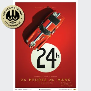 Ferrari 250 GTO - Red - 24h Le Mans - 1962 - Collector's Edition | Signed