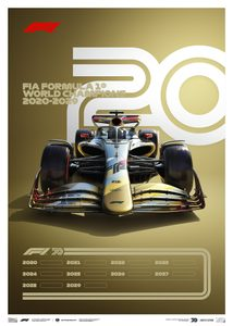 FORMULA 1® DECADES - 2020s THE FUTURE LIES AHEAD | LIMITED EDITION