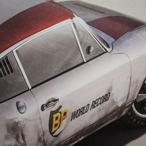 Porsche 911R - BP Racing - Monza - 1967 - Colors of Speed Poster