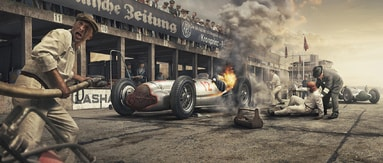 BURN AND CRASH - ARTWORK - FINE ART PRINTS