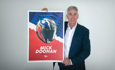 Automobilist launches commemorative Mick Doohan Helmet Design Poster