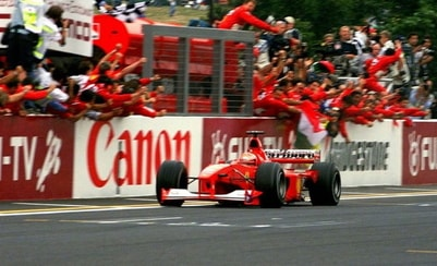 Story: Michael Schumacher's historic triumph for Ferrari in Suzuka