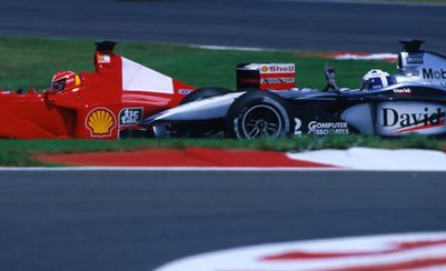 Story: Coulthard's 2000 French GP Win: Victory, and an Infamous Fly-By