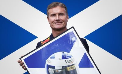 Meet F1 Driver-turned-Presenter, David Coulthard
