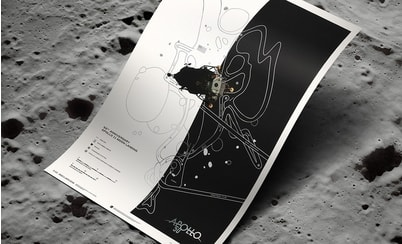 Automobilist announces the release of the 50th Anniversary Apollo 11 Moon Landing Poster