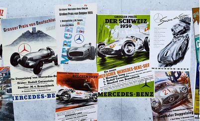 The Art of Speed – A Mercedes Motorsport Tradition