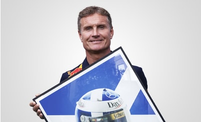 Automobilist announces the expansion of its signature Helmet Collection to include David Coulthard