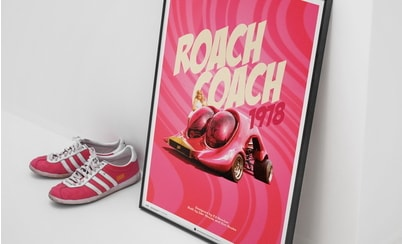 Automobilist recreates 70's legendary Roach Coach in 3D