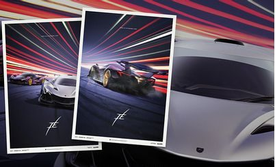 Automobilist Posters for Apollo IE: Redefining the Supercar