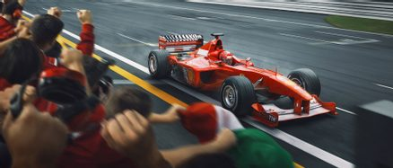 CROSSING THE LINE, RAISING THE BAR - ARTWORK - F1 FINE ART PRINTS