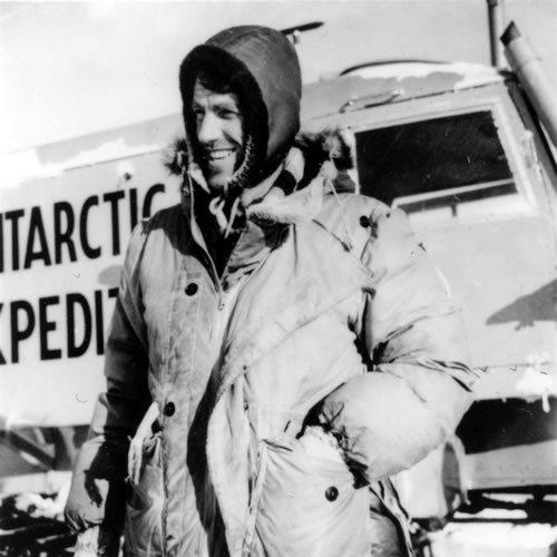 Sir Edmund Hillary - Trans Antarctic Expedition