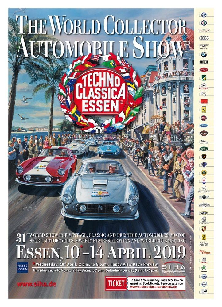Techno-Classica Essen 2019 poster