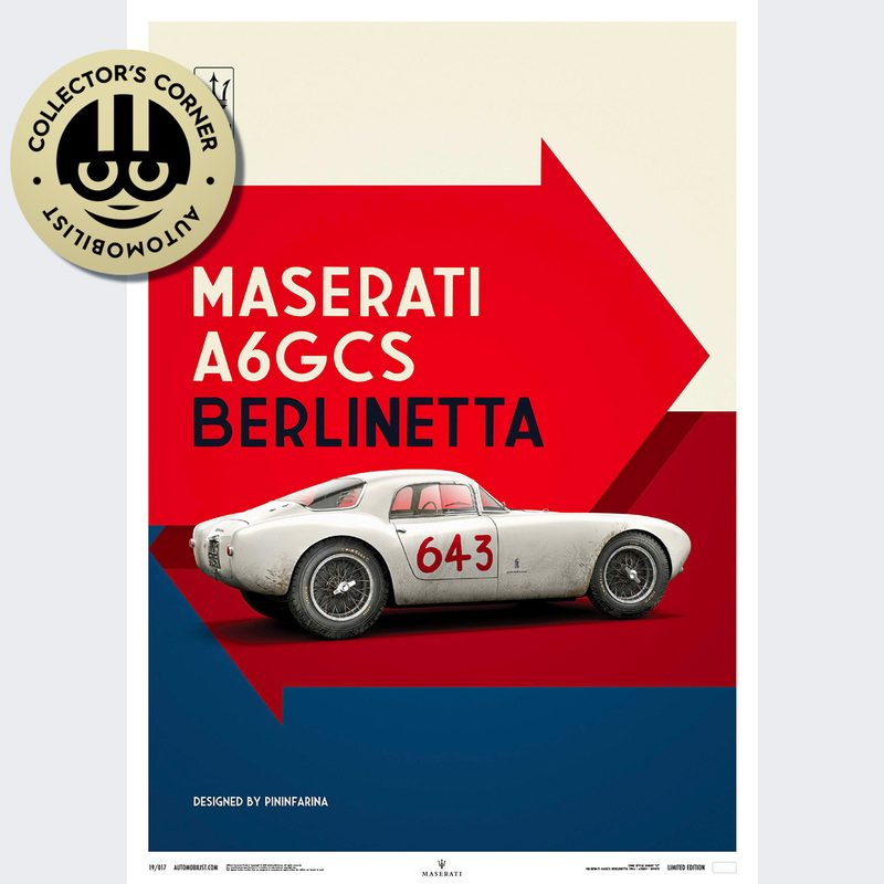 Maserati A6GCS Berlinetta 1954 - White | Unique #s