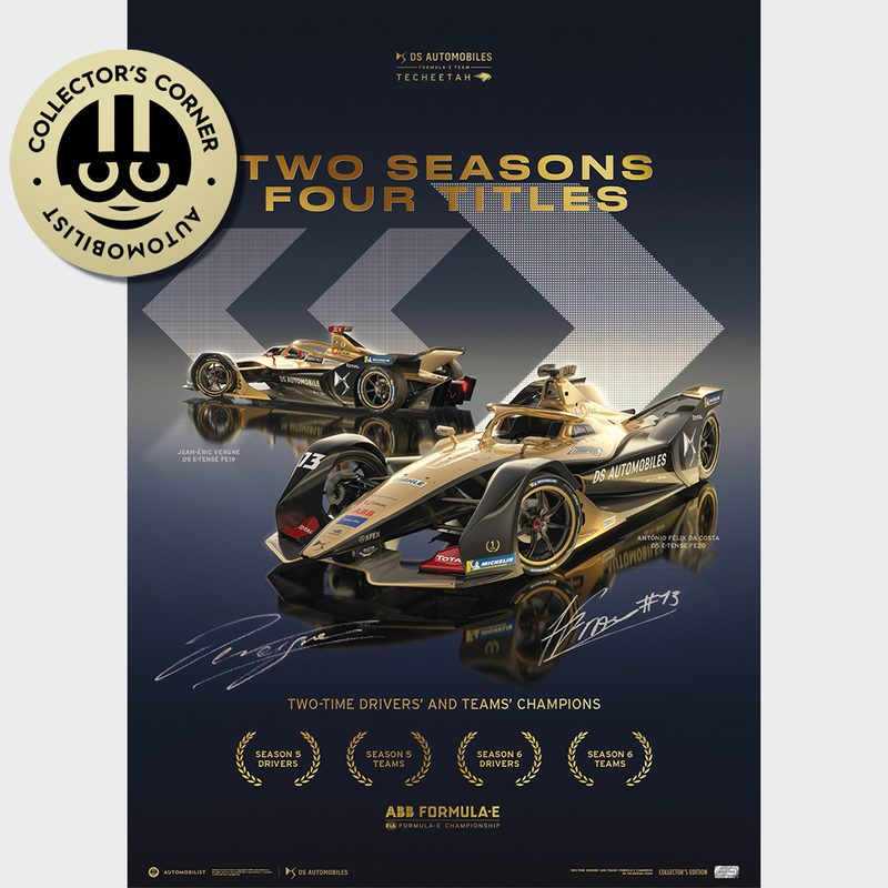 DS TECHEETAH - Formula E Team - 2 Seasons, 4 Titles | Collector's Edition | Signed
