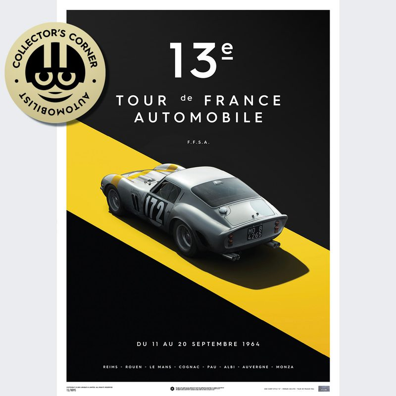 Ferrari 250 GTO - Silver - Tour de France - 1964 | Unique #s