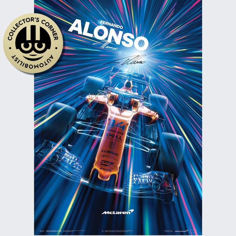 McLaren  - Fernando Alonso - Abu Dhabi - 2018 | Collector's Edition | Signed