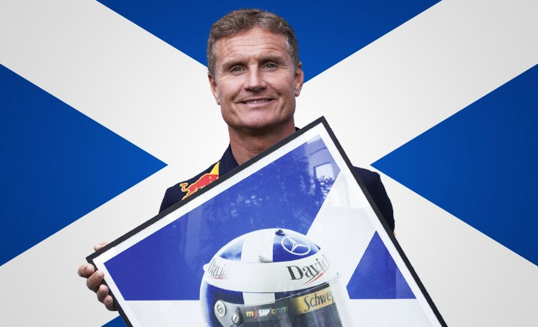 Meet F1 Driver-turner-presenter, David Coulthard