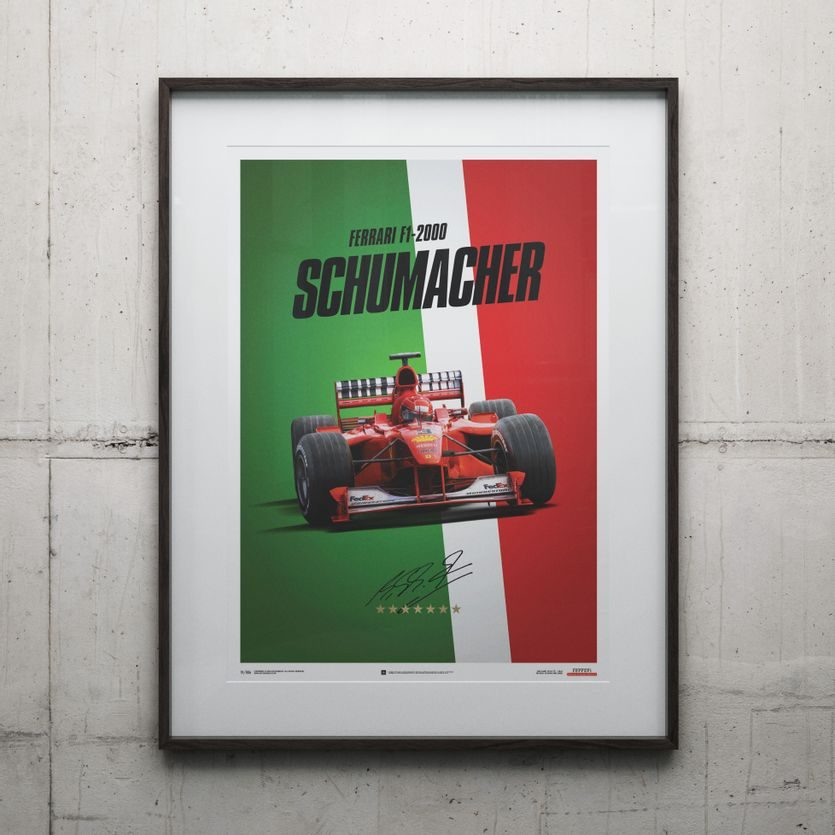 Michael Schumacher Motor Sport Racing Hero Giant Wall Art Poster Print