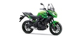 Kawasaki Versys 650 candy lime green