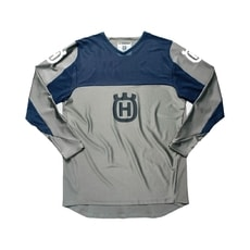 Dres Husqvarna Railed Shirt grey (šedá)