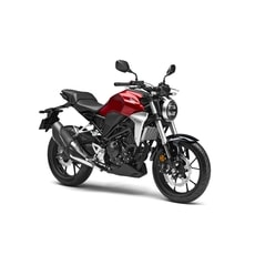 Honda CB300R candy chromosphere red