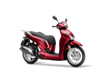 Honda SH300i pearl splendor red