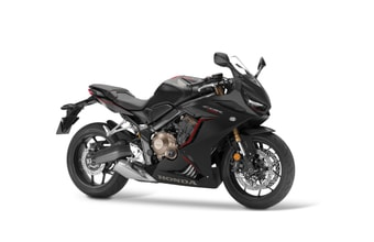 Honda CBR650R matt gunpowder black metallic