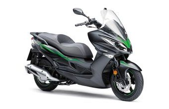Kawasaki J125 SE metallic flat anthracite black